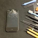 iphoneフロントパネル(フロントガラス)の修理