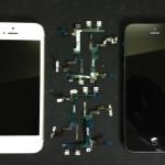 iPhone5ではこんな修理が多いです。