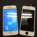 iPhone5s フロントパネル交換修理事例