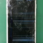 iPhone7の画面割れを修理しました。