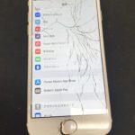 ガラス割れから繋がる?!TouchID機能とデータ消失の危機!
