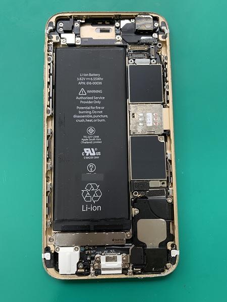 iphone6s 本体クリーニング②