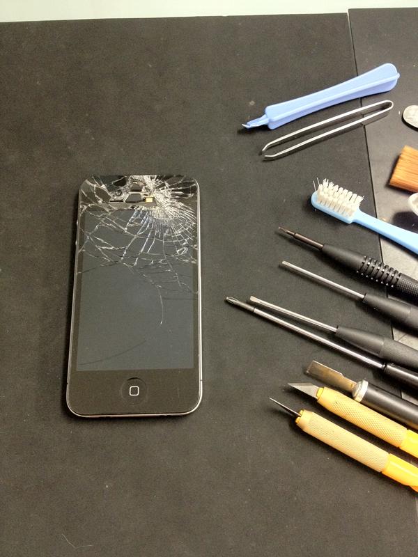iphone4修理交換手順