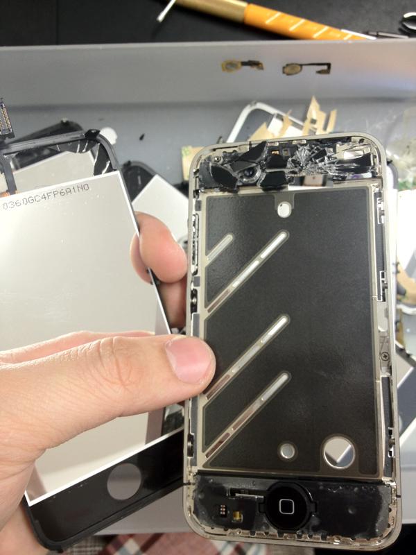 iPhone修理の工具について