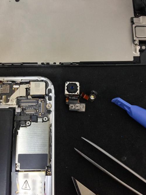 iphone5カメラ故障
