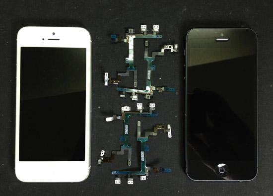 iPhone5スリープボタンの故障