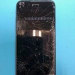 修学旅行に間に合わせたい…!液晶不良の iPhone8。