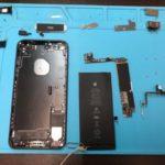 動画を録ったら音声が入ってないよー!インマイク不良の iPhone 7P。