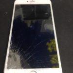 iPhone6Plus 画面割れとクリーニング