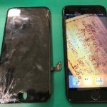 当店へご来店下さいましたお客様のiPhone修理のご紹介📱