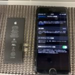 iPhone7のバッテリー交換で泉佐野市からお越しのお客様です🚗
