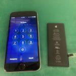 iPhone7のバッテリー交換を行いにお客様が岸和田からご来店されました
