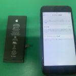 本日は飛び込みで泉佐野からiPhone6のバッテリー交換にお客様がご来店いただきました