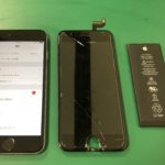 iPhone6sの画面交換とバッテリー交換で高石市からお越しのお客様です🚗